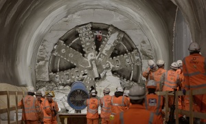 London - Crossrail breakthrough