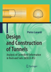 Design and Construction of Tunnels - P. Lunardi