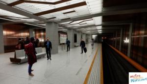 Warsaw Metro Station - line 2