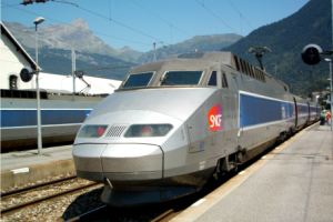 TGV (Train Grande Vitesse) - French High Velocity Train