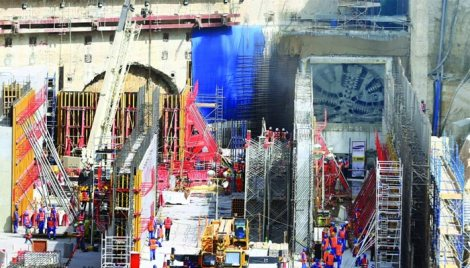 Doha Metro Tunnelling breakthrough