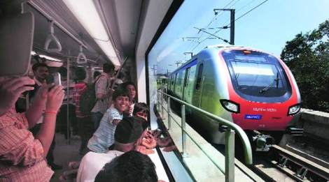 Chief Minister Devendra Fadnavis had recently announced that the state government would ensure a Metro network to connect the entire city with assistance from the Delhi Metro Rail Corporation (DMRC).