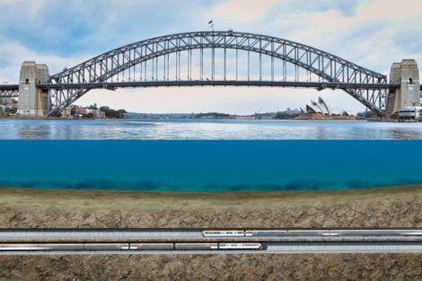 Sydney Harbour tunnels